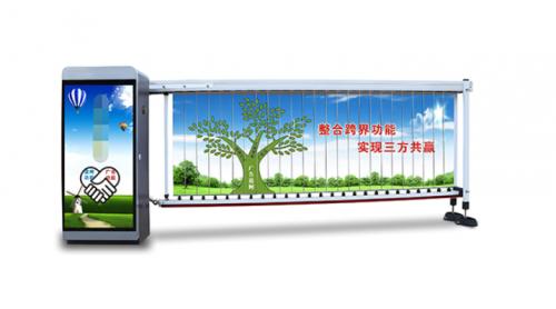 智能道闸厂家郑州领航交通简单介绍智能广告道闸